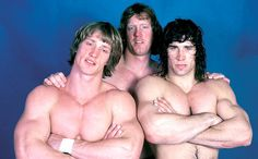 Kevin, David and Kerry Von Erich @Laura Albritton Graves