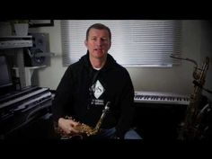 Nigel McGill: Saxophone Lesson - Beginner Saxophone - First Notes .