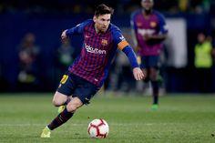 Villarreal v FC Barcelona - La Liga Santander Lionel Messi, Messi Goal Video, Fc Barcelona, Messi Goals, Running, Sports, The League, High Resolution Picture, News
