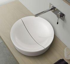 Mizu washbasin by Scarabeo