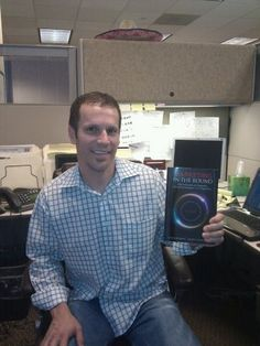 John Trader has his copy of Marketing in the Round!