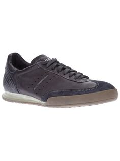 Brown leather sneakers from PANTOFOLA D'ORO