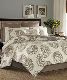 Look what I found on #zulily! Stone Cottage Medallion Four-Piece Comforter Set by Stone Cottage #zulilyfinds