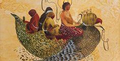 Iranian Artist Shiva Ahmadi shows her new work at Leila Heller Gallery.