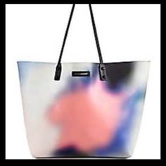 """Rebecca Minkoff Anytime Tote Grafitti Print Rebecca Minkoff Anytime Tote Grafitti Tote retail $198 NWT                                         Polyvinyl Chloride Imported 100% Man Made Materials lining No Closure closure 20.5"""" shoulder drop 20"""" high 12"""" wide Oversize tote in watercolor pattern featuring solid-tone straps and logo patch Pockets: 1 interior zip Rebecca Minkoff Bags Totes"""