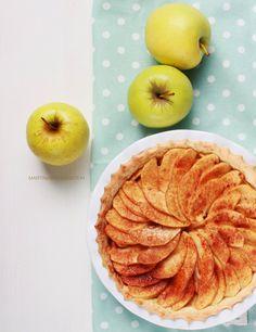 Martina Breidenstein: Tarte de maçã gold(en).