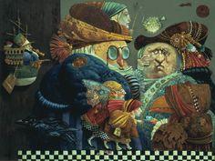 Tea for Toucan by James Christensen  #art #jameschristensen