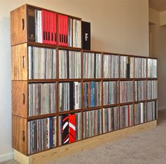 Colorado Record Crates. I love the simplicity of it.