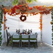 Tori Avey's Beautiful Sukkah 2012.  Go to http://toriavey.com/toris-kitchen/2012/10/sukkot-2012-my-sukkah/ for photos of her table.
