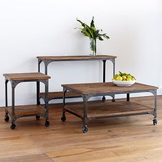 Aiden Coffee Table | World Market // this set might be a wonderful option for all of your needs!!