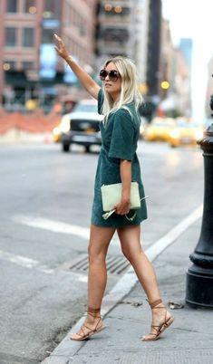 Tenue de jour comment s habiller aujourd'hui New York robe courte