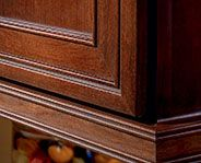 For the finishing touch, incorporate molding as a light rail for ...