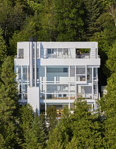 Casa Douglas, Harbor Springs, MI - Richard Meier & Partners - foto: James Haefner