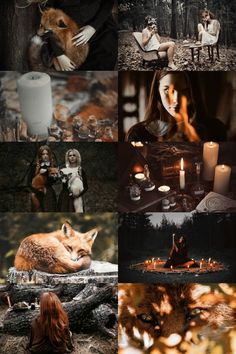Fox spirit witch aesthetic