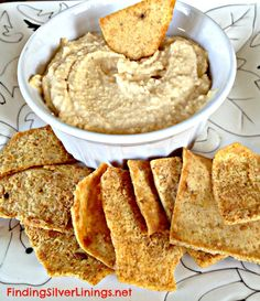 Simple and easy hummus recipe. Tastes way better than store bought and much lower sodium. Healthy alternative to other dips and condiments.