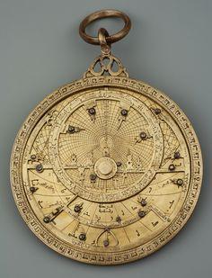 Arabic astrolabe by Anonymous from Cordoba, 1054, Muzeum Uniwersytetu Jagiellońskiego (MUJ)