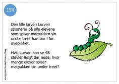 Småproblemer7 Word Problems, Fourth Grade, Teaching, Education, School, Maths, Grammar, Printables, Flower