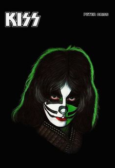 KISS Peter Criss Solo Album Stand-Up Display por kiss76 en Etsy
