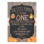 PUMPKIN BIRTHDAY INVITATION #halloween #happyhalloween #halloweenparty #halloweenmakeup #halloweencostume