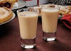Homemade Irish Cream Liqueur: 2 cups whiskey, 1 can (14 oz.) condensed milk (use less to make it less sweet), 1/2 pint whipping cream, 4 tbls chocolate syrup, 2 tsp instant coffee or espresso powder, 1 tsp vanilla extract. Mix, store in fridge; 1 month