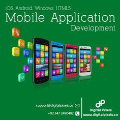 Custom Mobile App Development Services | Digital Pixels