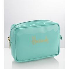 Harrods Cosmetics Bag ($15) ❤ liked on Polyvore