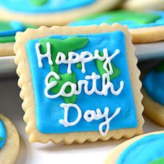 Celebrate our planet with Earth Day cookies