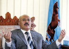 #موسوعة_اليمن_الإخبارية في أول ظهور له.. : صالح يعلّق على قصف الصالة الكبرى بصنعاء ويمتدح المخلافي وكرمان