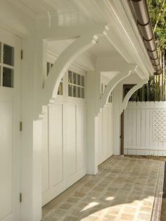 Traditional Spaces Garage Design,