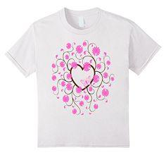 Kids Pink Butterfly, Pink Flowers, Brown Heart  T-Shirt 4... https://www.amazon.com/dp/B01N459C1W/ref=cm_sw_r_pi_dp_x_8xJtyb19P0ET4