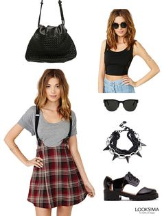 Spice up your day with a rocker chic look!