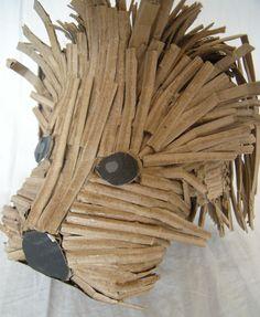 """""""Gaucho"""" Cartón reciclado, Fab 2012."""