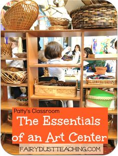 Learn about the essentials of an art center!