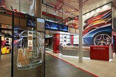 Ferrari flagship store, Milan, 2015 - Iosa Ghini Associati
