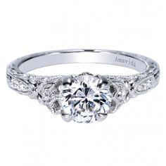 Antique #Diamond #Engagement Ring