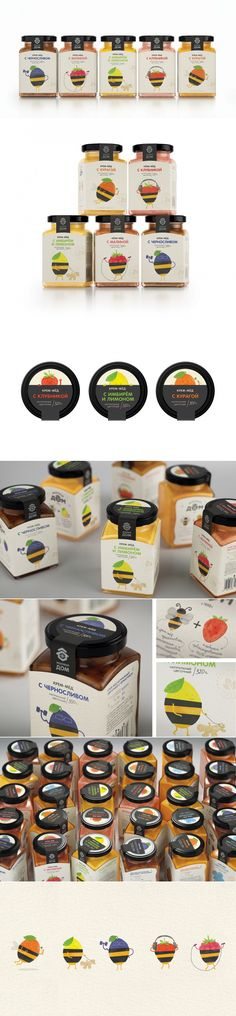 HONEY + BERRIES — The Dieline | Packaging & Branding Design & Innovation News