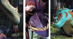 Dragons: Raincutter; Hobblegrunt; Snafflefang