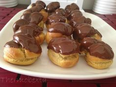 This choux pastry is perfect for profiteroles, eclairs or cream puffs. It doesn't contain any sweetener and therefore suits either sweet or savoury fillings. My recipe makes a large batch of profi...