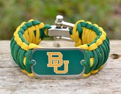 Survival Bracelet - Officially Licensed - #Baylor Bears™: Have to get one of these
