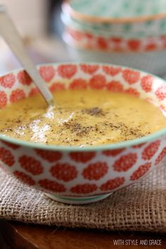 apple parsnip soup from with style and grace