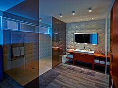'Touch' concrete tile design by Zsanett Kincses I KAZA Concrete 3d Tiles, Concrete Tiles, Hotel Interiors, Tile Design, Modern House Design, Surface Design, Home Interior Design, Luxury Homes, Wall Decor