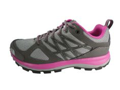The North Face Litewave Hiking Shoe - Women's Dark Gull Grey/Linaria Pink - Shoes for Liz