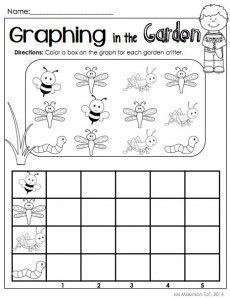 bug graph worksheet