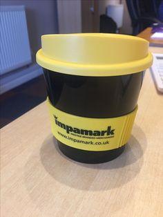 Impamarks self promo travel mugs
