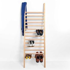This is the amazing Step Up Ladder shoe rack designed by Tore Bleuzé for EMKO. You can buy it on our online store http://www.spaceandshape.com. Now prices from 99.59.  #interiordesign #indoors #homedecor #interior #decor #interiorstyling #homestyle #interiors #design #style #minimalism #whiteliving #whiteonwhite #whitehouse #inspiration #dailyinspiration #decoration #livingroom #diningroom #oak #furniture #designs #featuremebirds #filmpalette #quietthechaos #teamclearhorizon #spaceandshape…