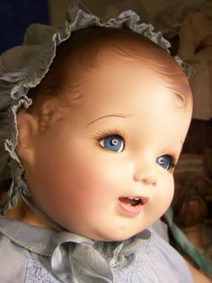 "28"" COMPOSITION CLOTH IDEAL CUDDLES DOLL COMPO COMPOSITE OLD ANTIQUE LARGE BABY"