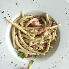 Pasta with Truffles and Prosciutto