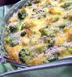 Recipe For Broccoli Chicken Divan - A quick and easy chicken and broccoli dish that all will love! - Click to see it here
