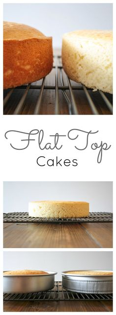 Learn how to bake up perfectly flat cakes every time!   livforcake.com