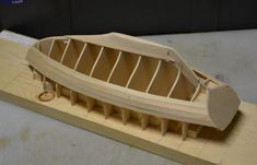 """L.F. Herreshoff Buzzards Bay By Pete48 - Small 3/4"""" = 1' - 0"""" scale - Finished - - Build logs for subjects built 1901 - Present Day - Model Ship World™ Model Sailboats, White Haven, Buzzards Bay, Commercial Pilot, Model Ship Building, Sailboat Plans, Wooden Boat Building, Birch Ply, Woodworking Jigs"""